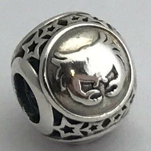 PANDORA Cancer Star Sign Sterling Silver Charm